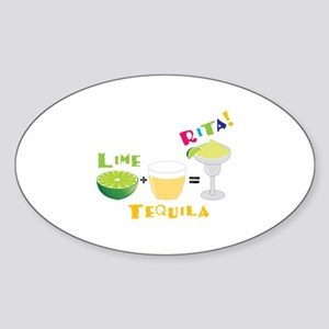 LIME + TEQUILA = RITA! Sticker