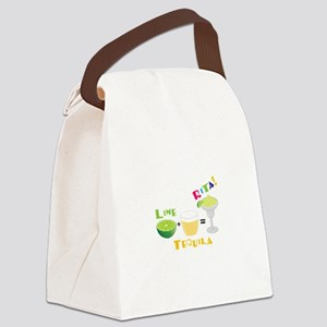 LIME + TEQUILA = RITA! Canvas Lunch Bag