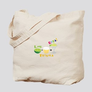 LIME + TEQUILA = RITA! Tote Bag