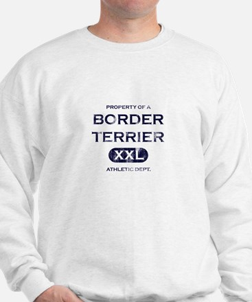 Property of Border Terrier Sweatshirt