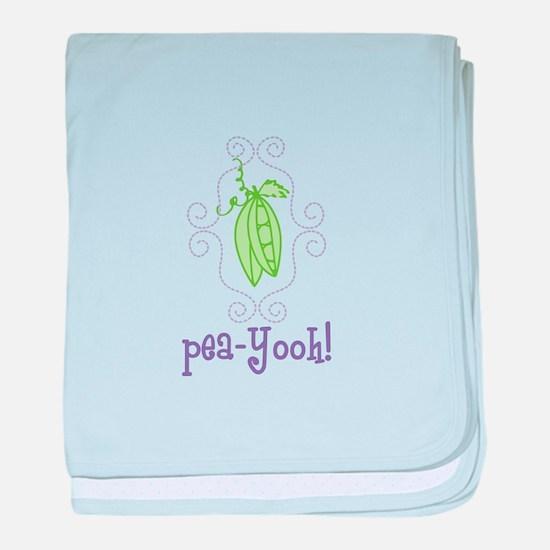 Pea Yooh! baby blanket