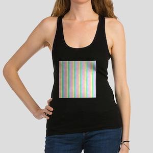 Striped Pastels Racerback Tank Top