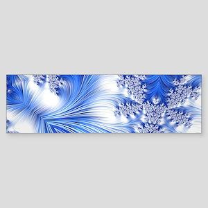 Special Fractal 17,blue Bumper Sticker