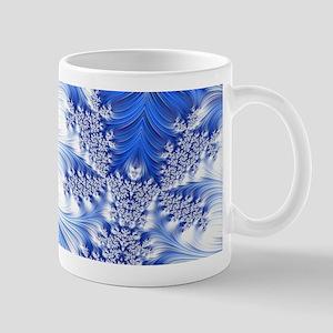 Special Fractal 17,blue Mugs