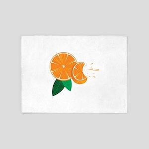 Oranges 5'x7'Area Rug