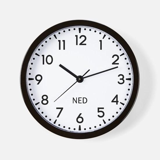 Ned Newsroom Wall Clock