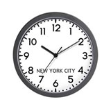 New york city Basic Clocks