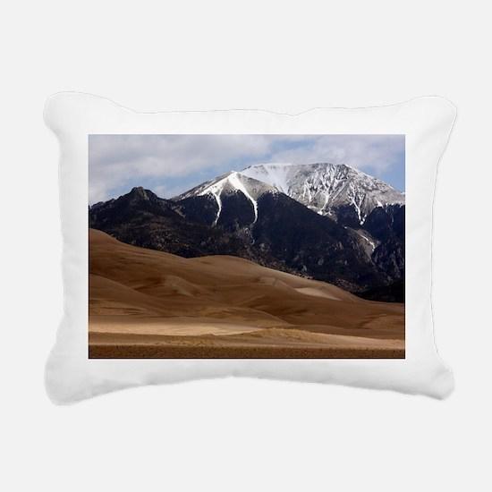 Great Sand Dunes Colorad Rectangular Canvas Pillow