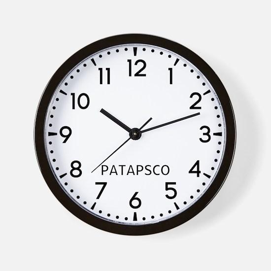 Patapsco Newsroom Wall Clock