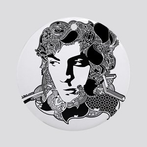 Syd Barrett Round Ornament