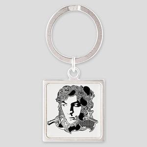 Syd Barrett Square Keychain