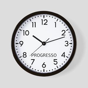 Progresso Newsroom Wall Clock