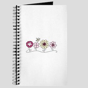 Bee In Flower Journal