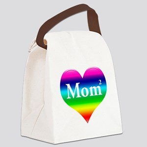 """Gay Mom """"Squared"""" Canvas Lunch Bag"""
