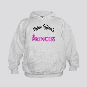 Police Officer's Princess Kids Hoodie