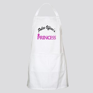Police Officer's Princess BBQ Apron