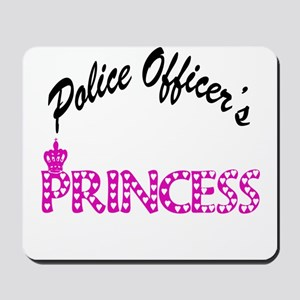 Police Officer's Princess Mousepad