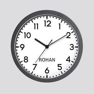 Rohan Newsroom Wall Clock