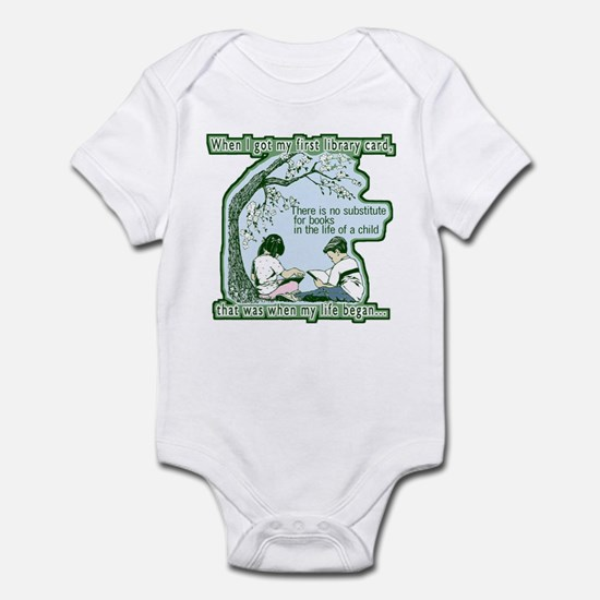 No Substitute For Books Infant Bodysuit