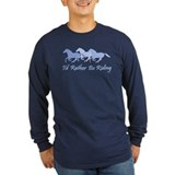 Horse Long Sleeve Dark T-Shirts