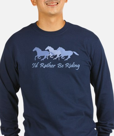 Rather Be Riding A Wild Horse T