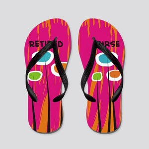 Retired Nurse AB Flip Flops