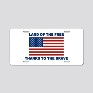 Land Of The Free Thanks To The Brave Aluminum Lice