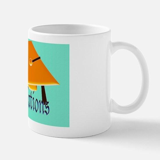 Graduation hat – Coagulations Orange ha Mug