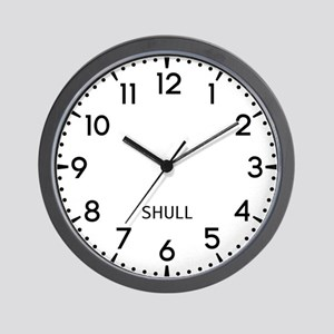Shull Newsroom Wall Clock