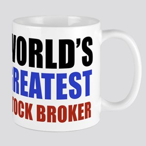 stock broker designs Mug
