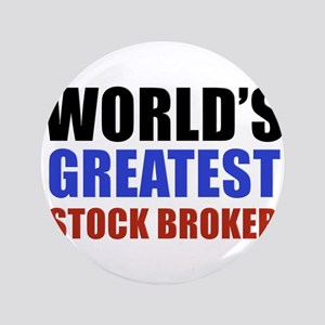 "stock broker designs 3.5"" Button"