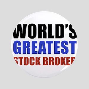 """stock broker designs 3.5"""" Button (100 pack)"""