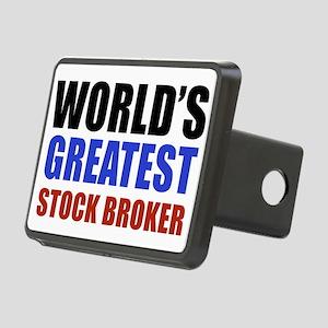 stock broker designs Rectangular Hitch Cover