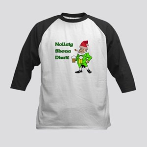 Nollaig Shona Dhuit Kids Baseball Jersey