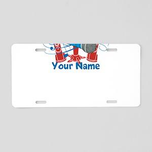 Personalized Karaoke Aluminum License Plate