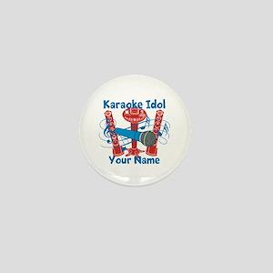 Personalized Karaoke Mini Button