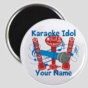 Personalized Karaoke Magnets