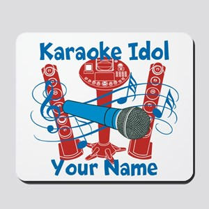 Personalized Karaoke Mousepad
