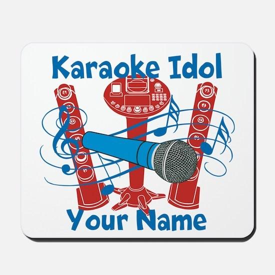 Personalized Karaoke Mousepad