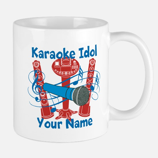 Personalized Karaoke Mugs