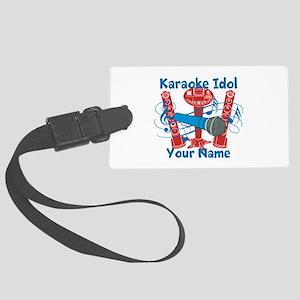 Personalized Karaoke Luggage Tag