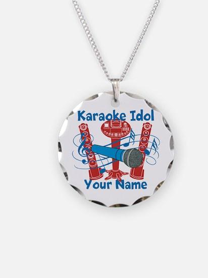 Personalized Karaoke Necklace