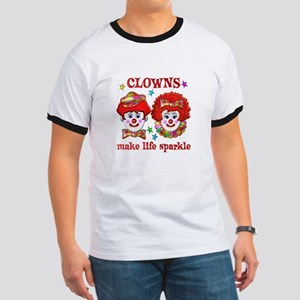 CLOWNS Sparkle Ringer T