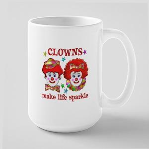 CLOWNS Sparkle Large Mug