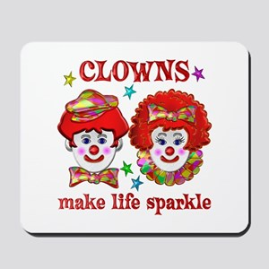 CLOWNS Sparkle Mousepad