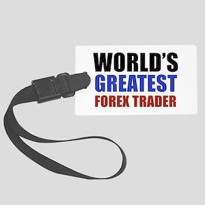 Forex trader designs Large Luggage Tag