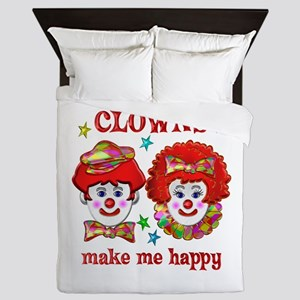 CLOWN Happy Queen Duvet