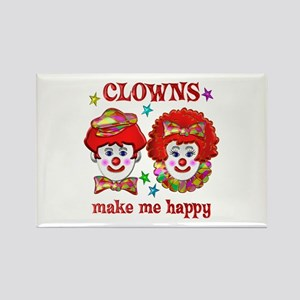 CLOWN Happy Rectangle Magnet
