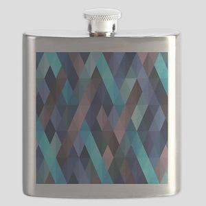 pleasant june,blue Flask