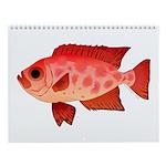 Glasseye Wall Calendar